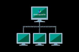 Macquarie cloud services logo